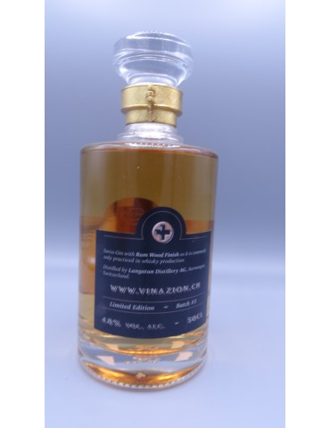 GINAZION (GIN) Rum Wood...